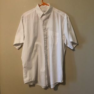 Brooks Brothers Basic white button down.